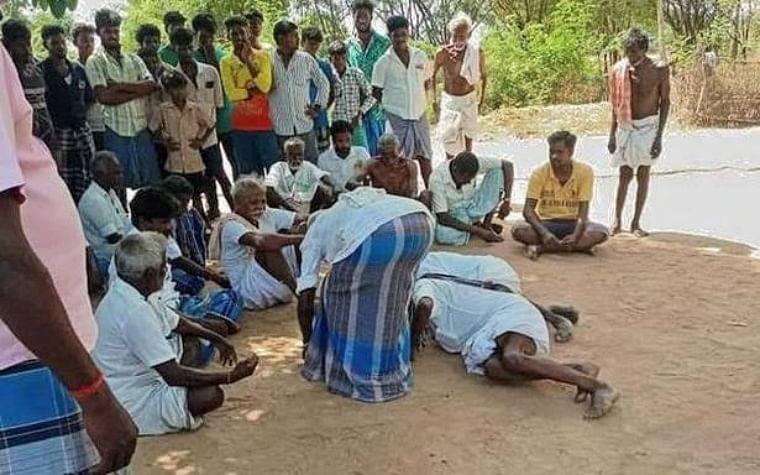 Tamil Nadu: 3 Dalit men forced to fall at feet of village panchayat as punishment for organising music function