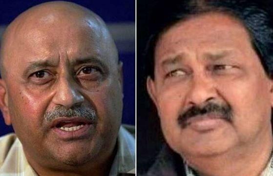 MK Kaushik (L) and Ravinder Pal Singh