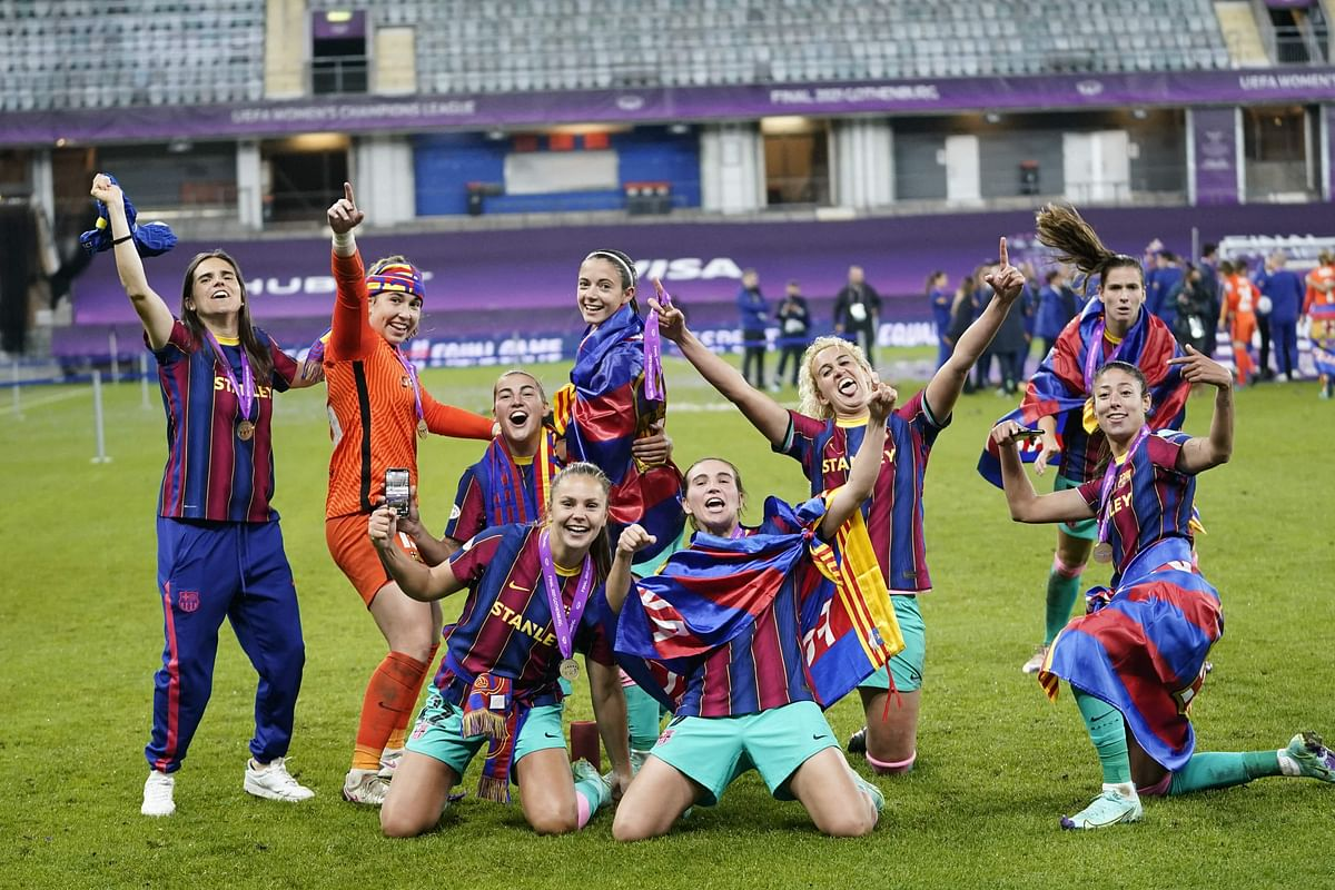 Barcelona eves crowned Champions League queens