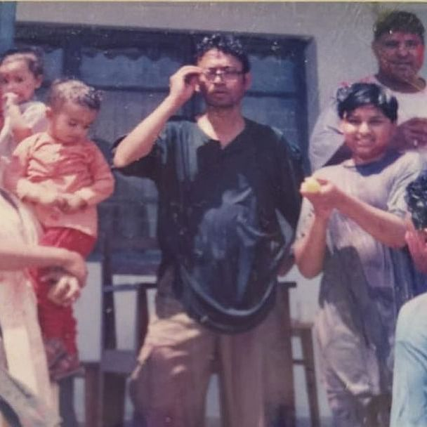 Irrfan Khan's son Babil shares throwback photos with parents, recalls 'best Holi celebrations' of his life