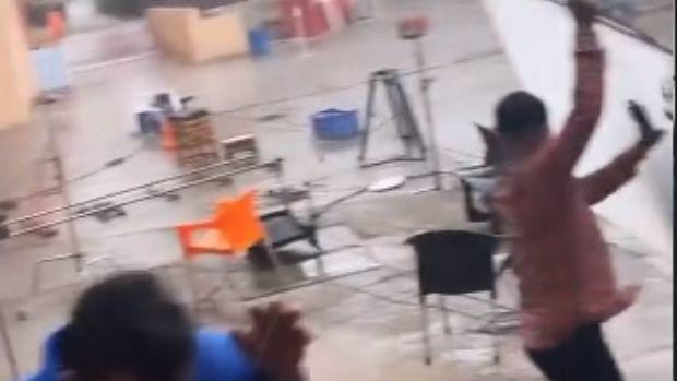 TV industry impacted by Tauktae; 'Yeh Rishta Kya Kehlata Hai 2', 'Wagle Ki Duniya' outdoor sets destroyed