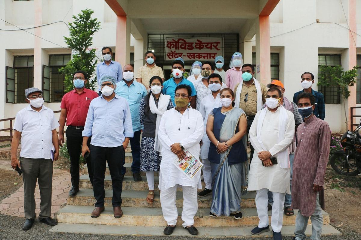 Madhya Pradesh: Motivation Chariots to spread awareness on corona, vaccination in Burhanpur