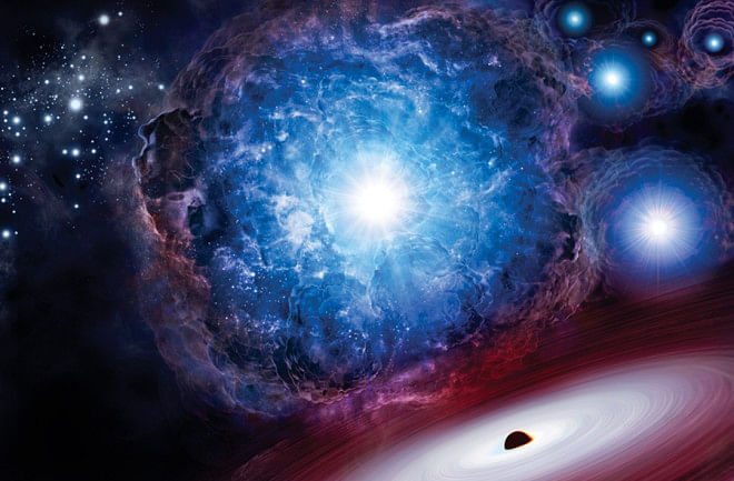 New study on what happened in first microsecond of Big Bang
