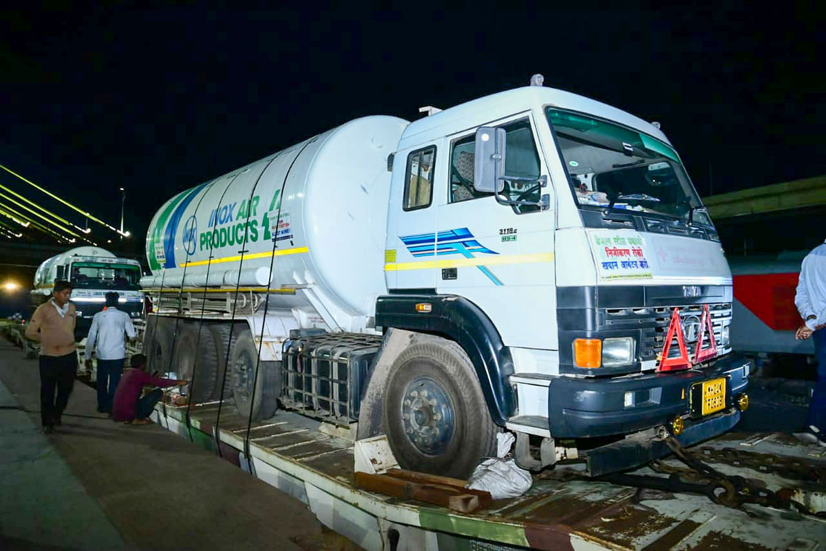 Mumbai: Oxygen Express ferries over 4,079 MT O2 across country