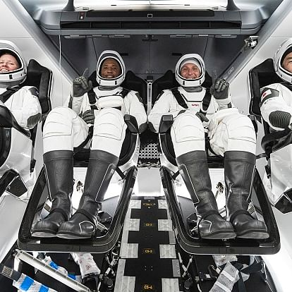 SpaceX-NASA crew-1 astronauts return safely from space station