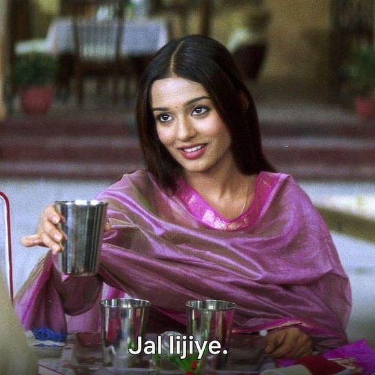 Watch: Amrita Rao shares hilarious video after 'Jal Lijiye' scene from 'Vivah' triggers meme fest