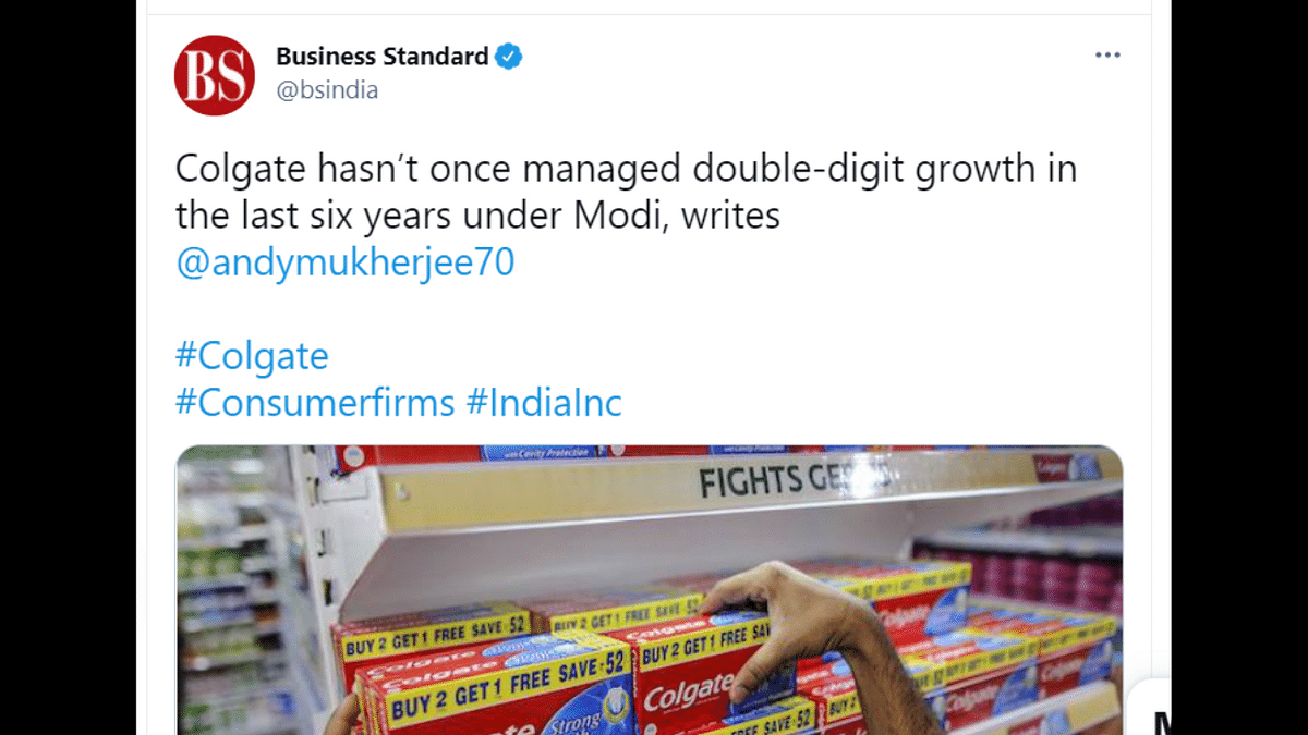 Report claims Patanjali and PM Modi behind Colgate's dipping revenue; generates meme-fest on Twitter