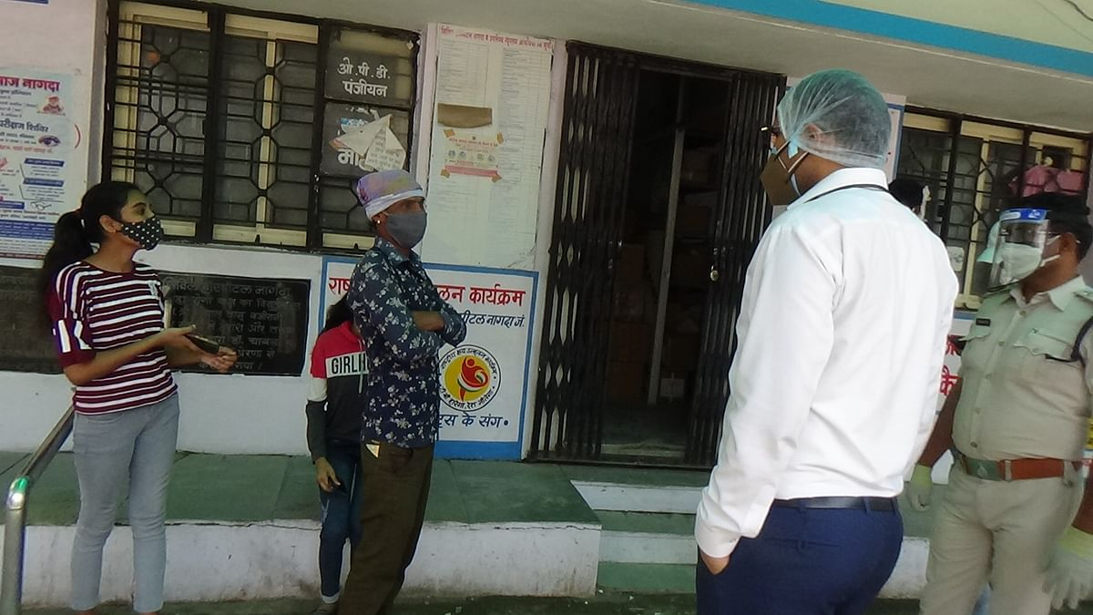Nagda: Administration bans entry of Covid patients' attendants in corona ward fearing infection