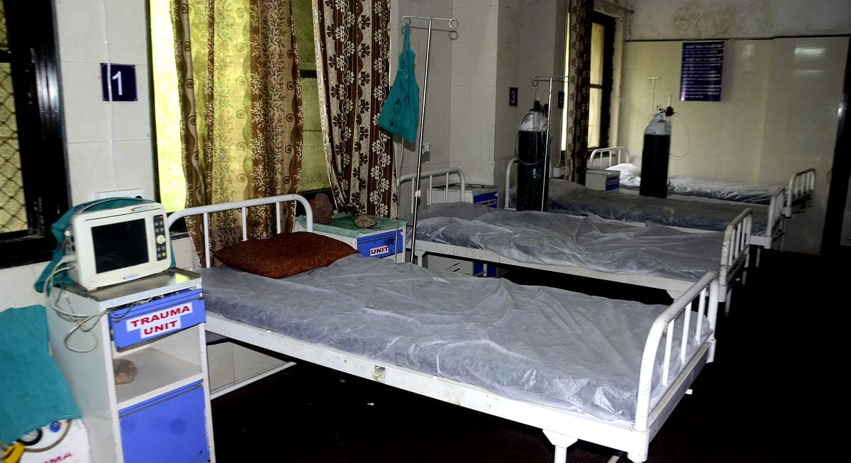 Bhopal: Compared to a fortnight ago, bed occupancy falls by 28%