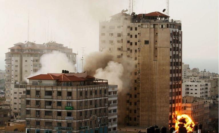 Israeli airstrike flattens media houses in Gaza; AL Jazeera and AFP offices destroyed