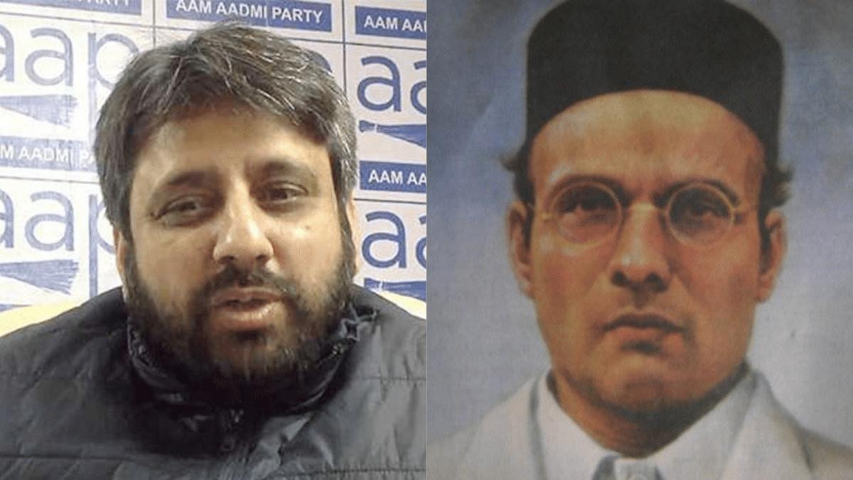'Veer Nahi, 'Maafi' Veer': AAP MLA Amanatullah Khan tweets on Savarkar's birth anniversary