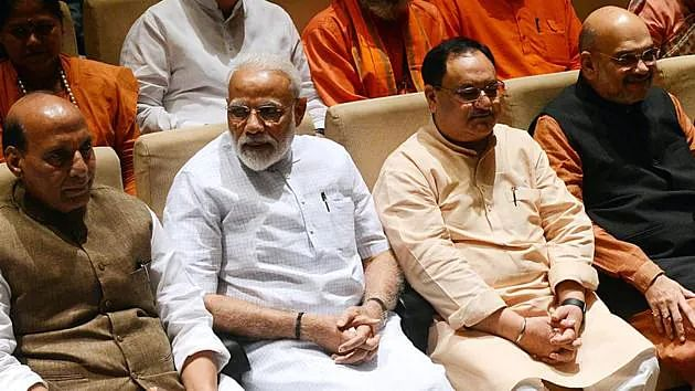 PM Modi slams Congress for deadlock in House at parliamentary party meet