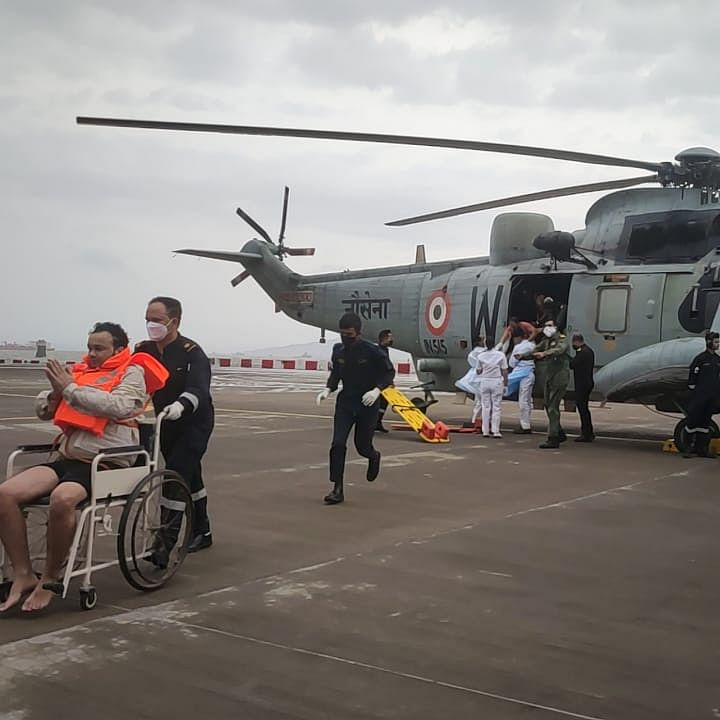 How the Indian Navy gated to save 710 lives from deep sea