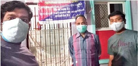 Madhya Pradesh: Staff breaking their backs to notify containment zones in Nagda town