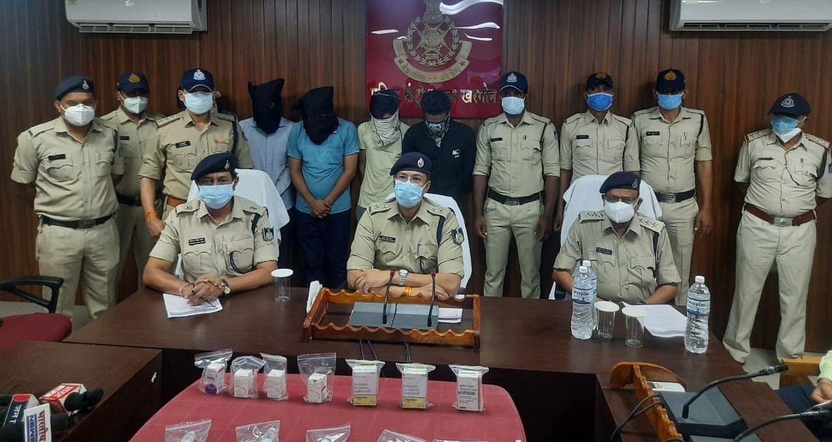 Madhya Pradesh: Five arrested as Remdesivir black market racket busted by Khargone police