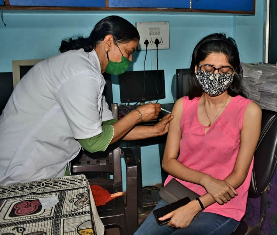 Indore: Bid to go hyper on vax job from June 1
