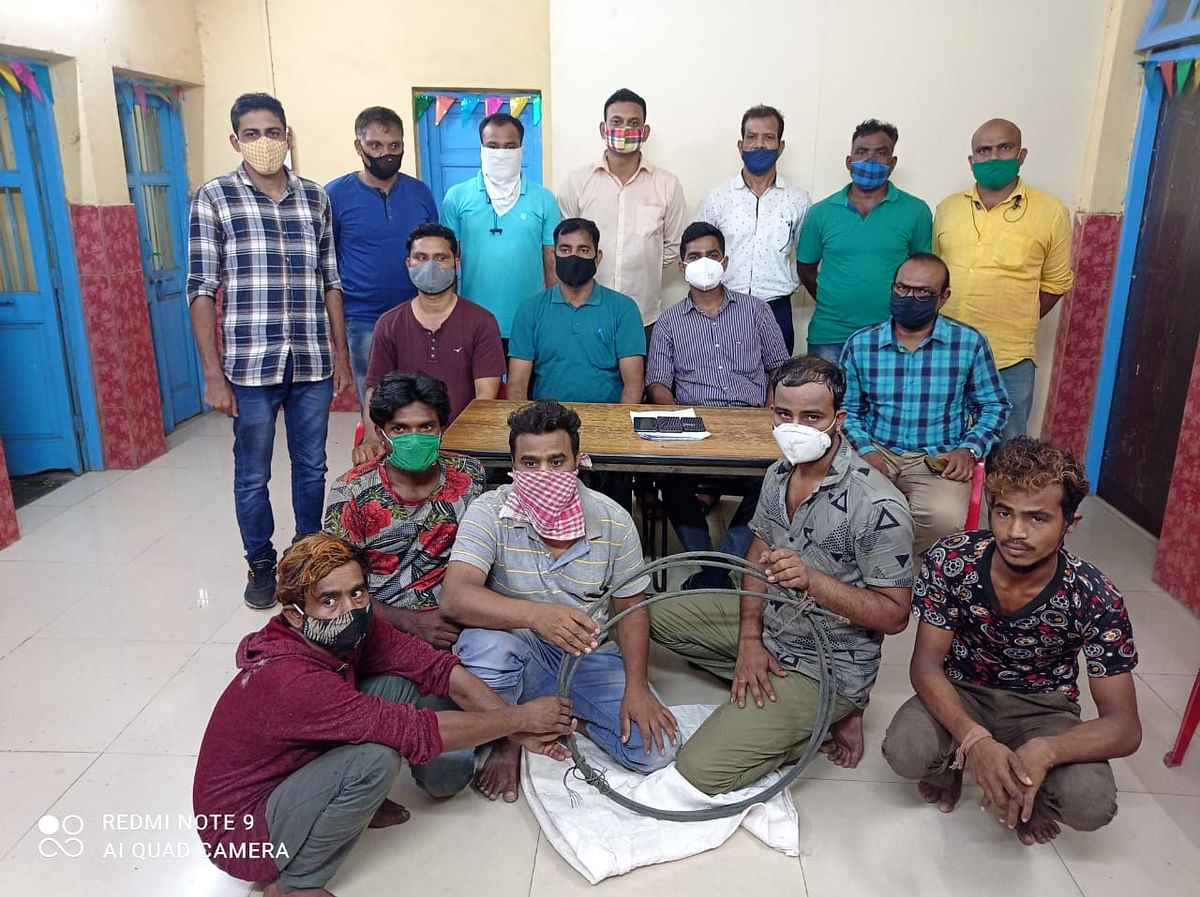 Mumbai: RPF nabs gang of five that stole copper wires from OHE cables