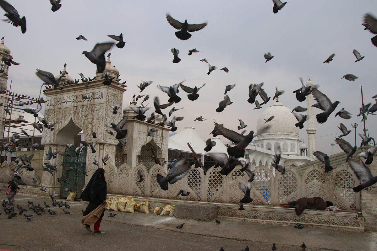 Srinagar under quarantine: Markets, roads wear deserted look as authorities impose COVID-19 curfew -- see pics here
