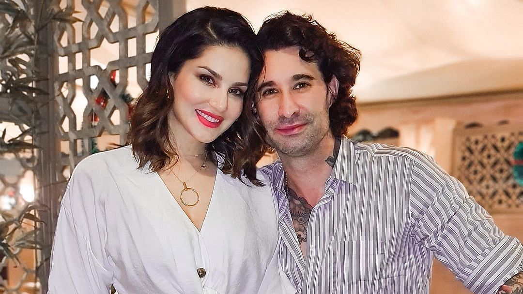 Sunny Leone reveals how she  'keeps the spark alive' with Daniel Weber in a fun video