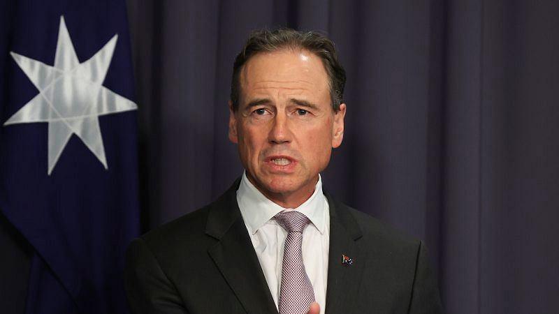 Health Minister Greg Hunt imposed new travel restrictions on April 30