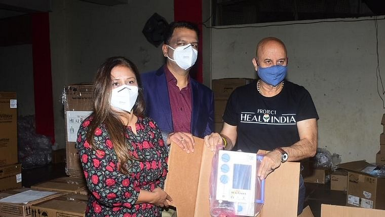 Anupam Kher joins Covid relief activities with 'Project Heal India'