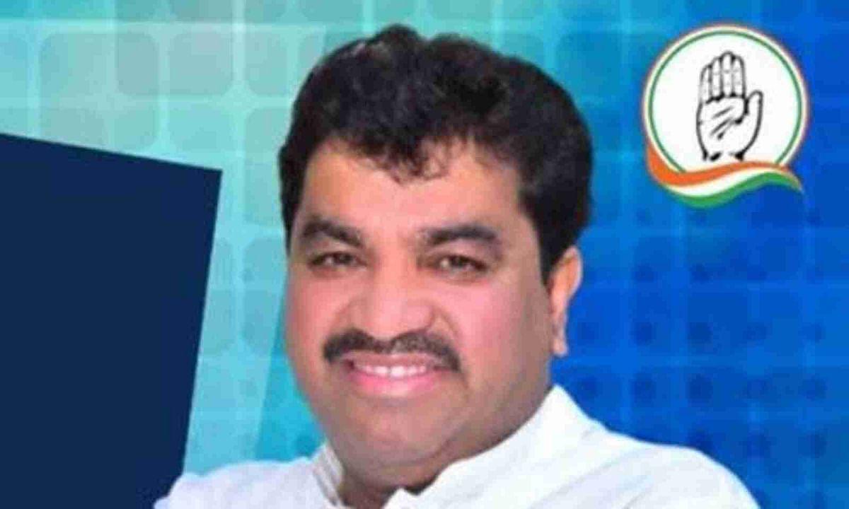 Congress MLA Sanjay Shukla