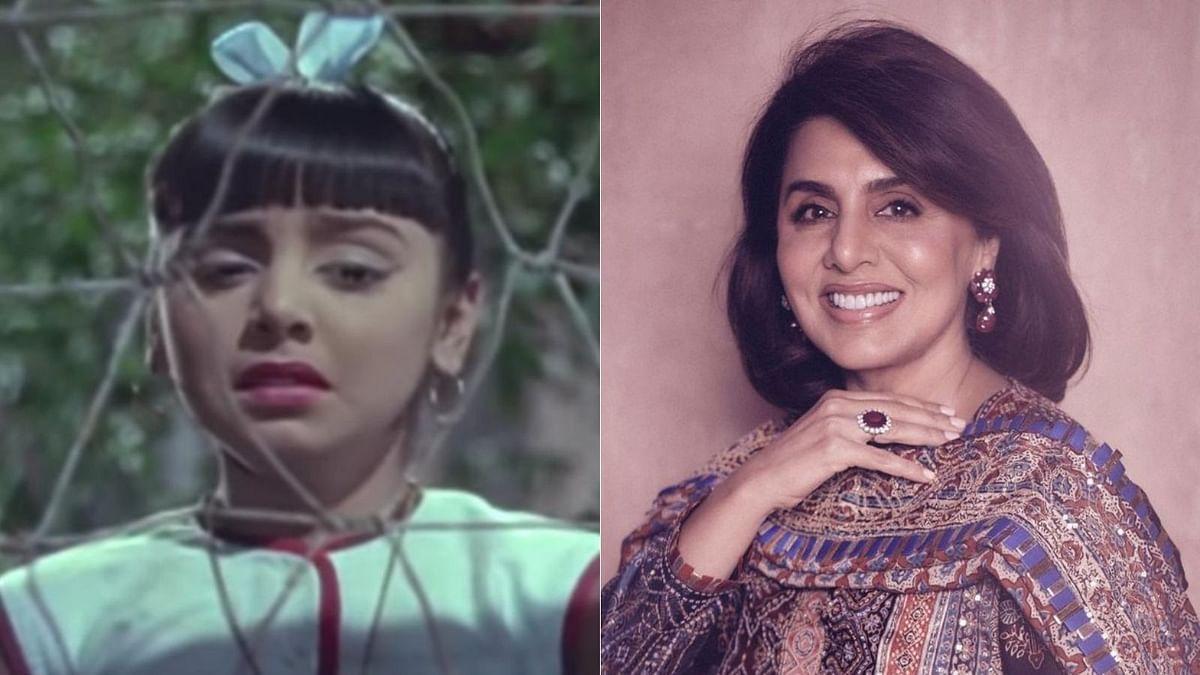 Neetu Kapoor recalls her child artist days with adorable video; Soni Razdan calls her 'cute'