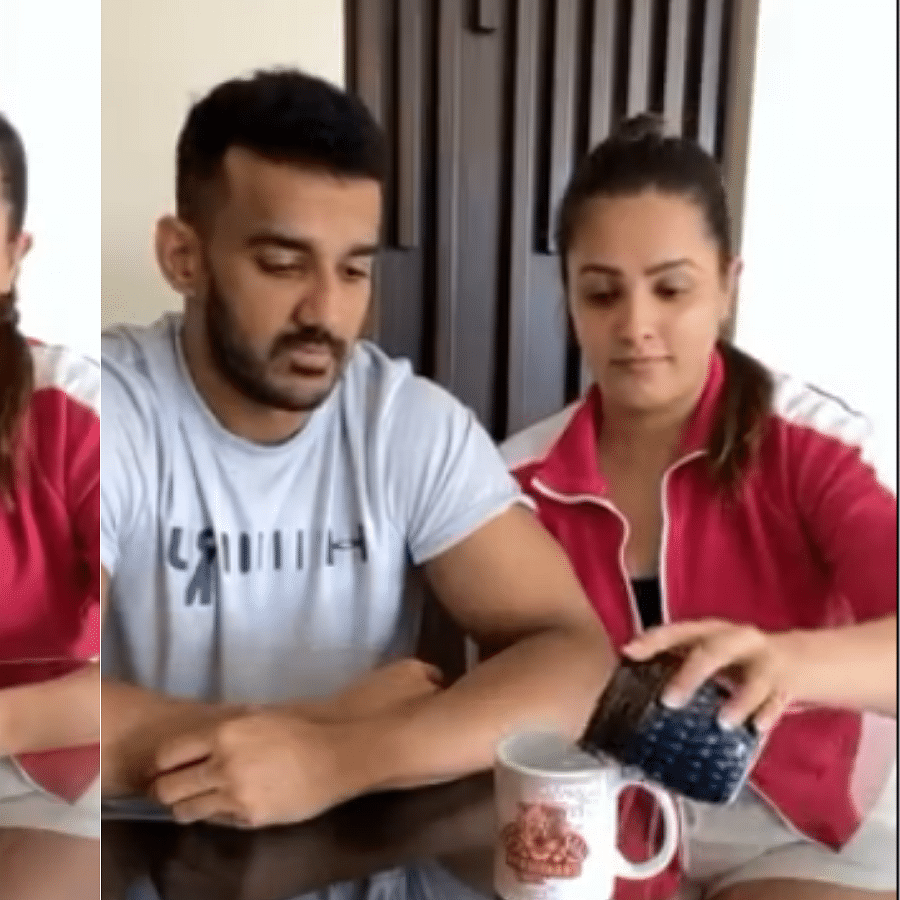 After slapping hubby Rohit Reddy, Anita Hassanandani pranks him yet again; watch hilarious video