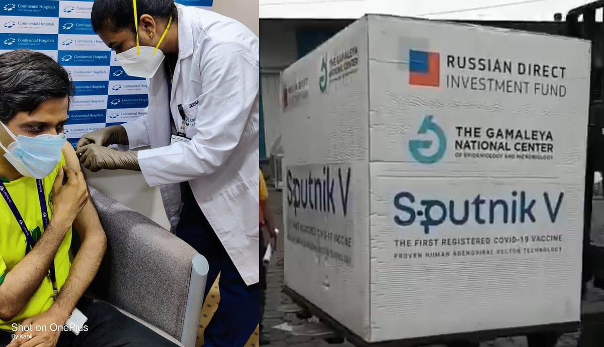 First dose of Sputnik V COVID-19 vaccine administered in Hyderabad; jabs set to cost Rs 948 plus 5% GST