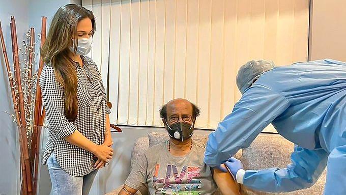 Thalaivar Vaccinated: Rajinikanth receives second dose of COVID-19 vaccine, daughter Soundarya shares pic
