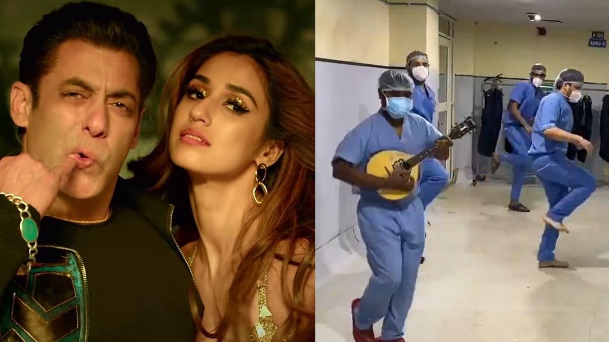 Watch: Disha Patani shares video of doctors dancing to 'Radhe' song 'Seeti Maar'