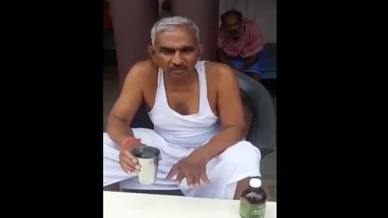 Watch: BJP MLA Surendra Singh recommends drinking cow urine to stop COVID-19 spread