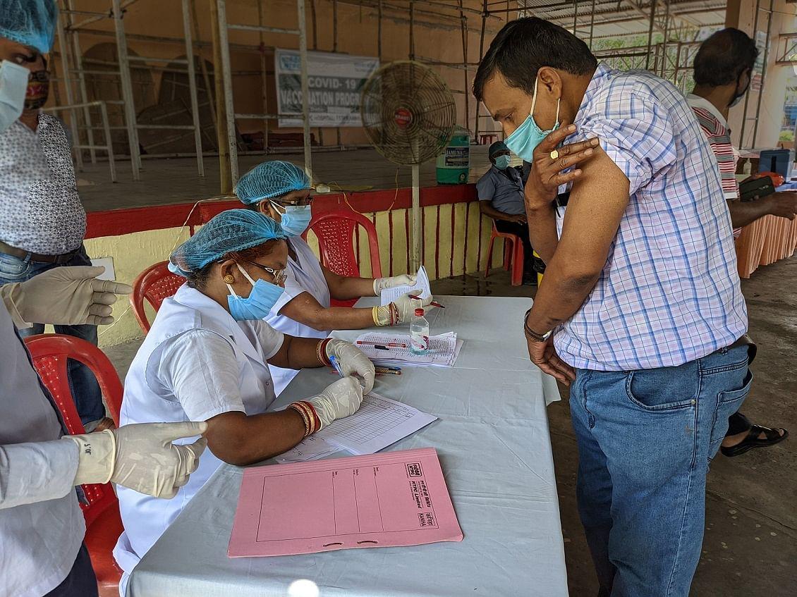 NTPC Talcher Kaniha organises vaccination drive