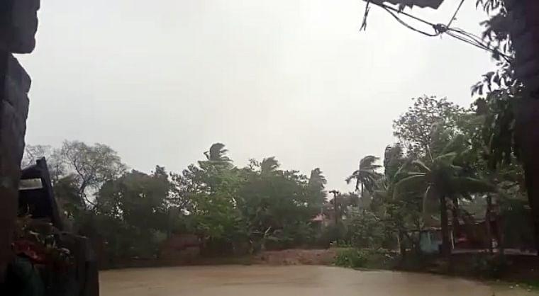 In pics: Cyclone Yaas ravages Odisha; trees, electric poles uprooted, kutcha houses damaged