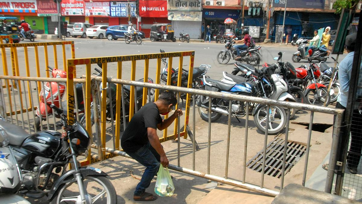 Unlock in Bhopal: Barricades to go off city roads today, routine checking drive to continue