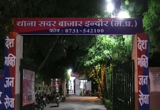 Sadar Bazaar police station in Indore