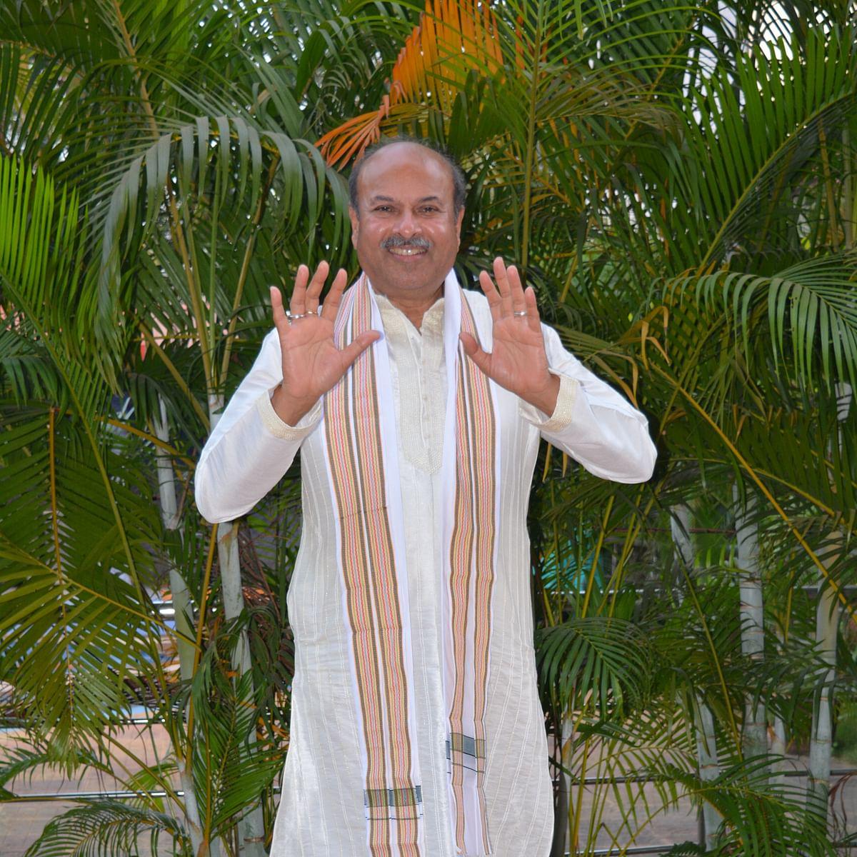 """The Peace Mantra """"OM Bhadram Karnebhih"""": NJ Reddy, YPV Sadhana"""
