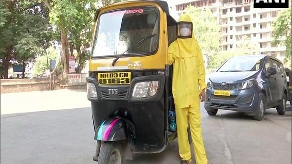 Meet Dattatraya Sawant, Mumbai teacher who drives auto-rickshaw to ferry COVID-19 patients for free
