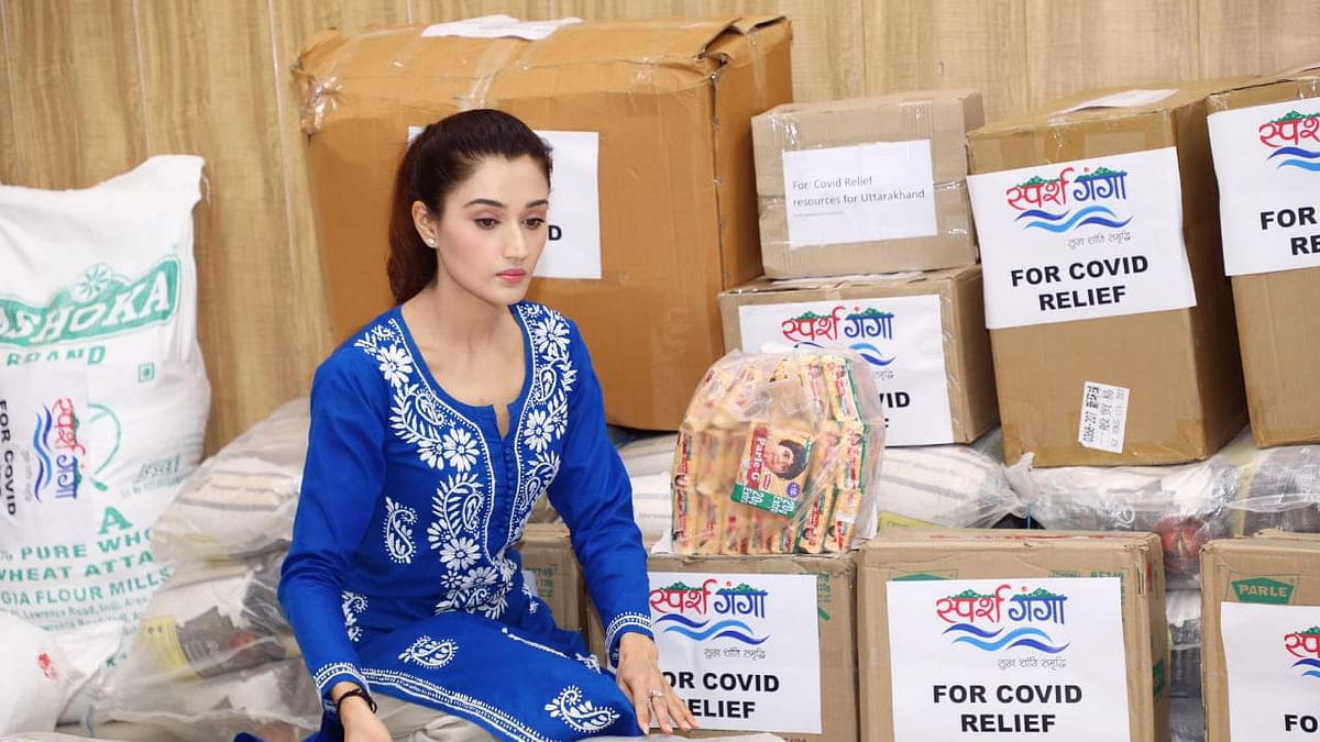 Arushi Nishank launches COVID-19 relief campaign in Uttarakhand