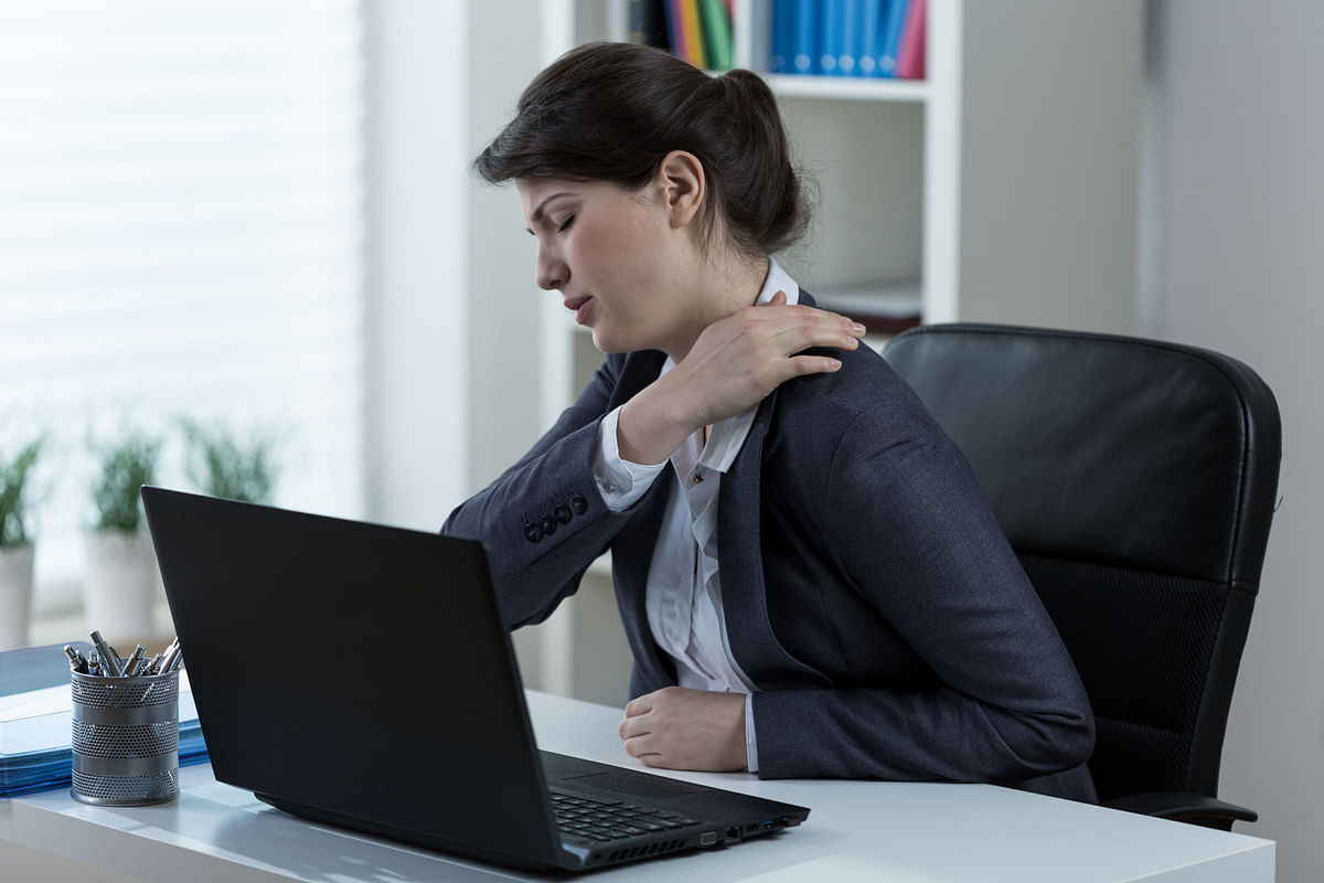 Movement Coach: Make sure you break the chain and not your back while working from home!