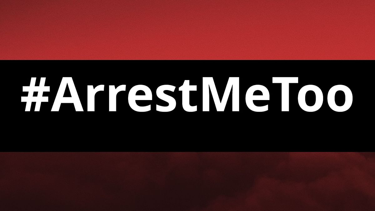 What is #ArrestMeToo and why is it trending? Read on