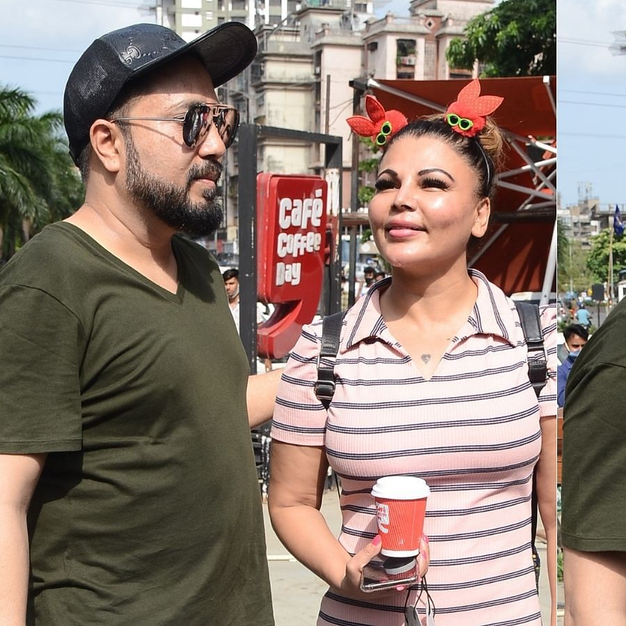 'We are friends now': Rakhi Sawant and Mika Singh bump into each other years after kiss controversy; watch video
