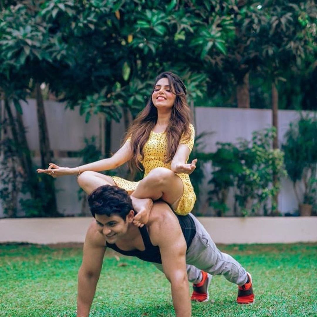 Sanket Bhosale shares sweet birthday note for wife Sugandha Mishra, calls her 'director of my life'