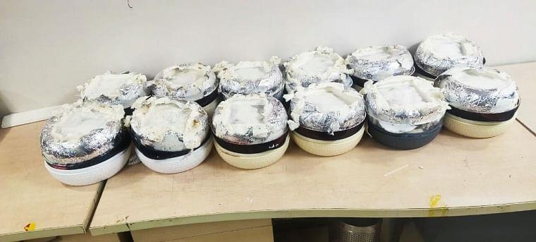 Hot pots containing Pseudo-Ephedrine seized by NCB