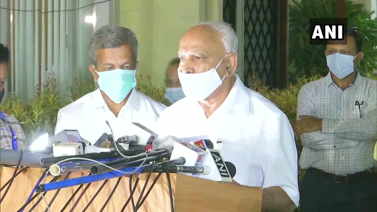 Karnataka CM Yediyurappa
