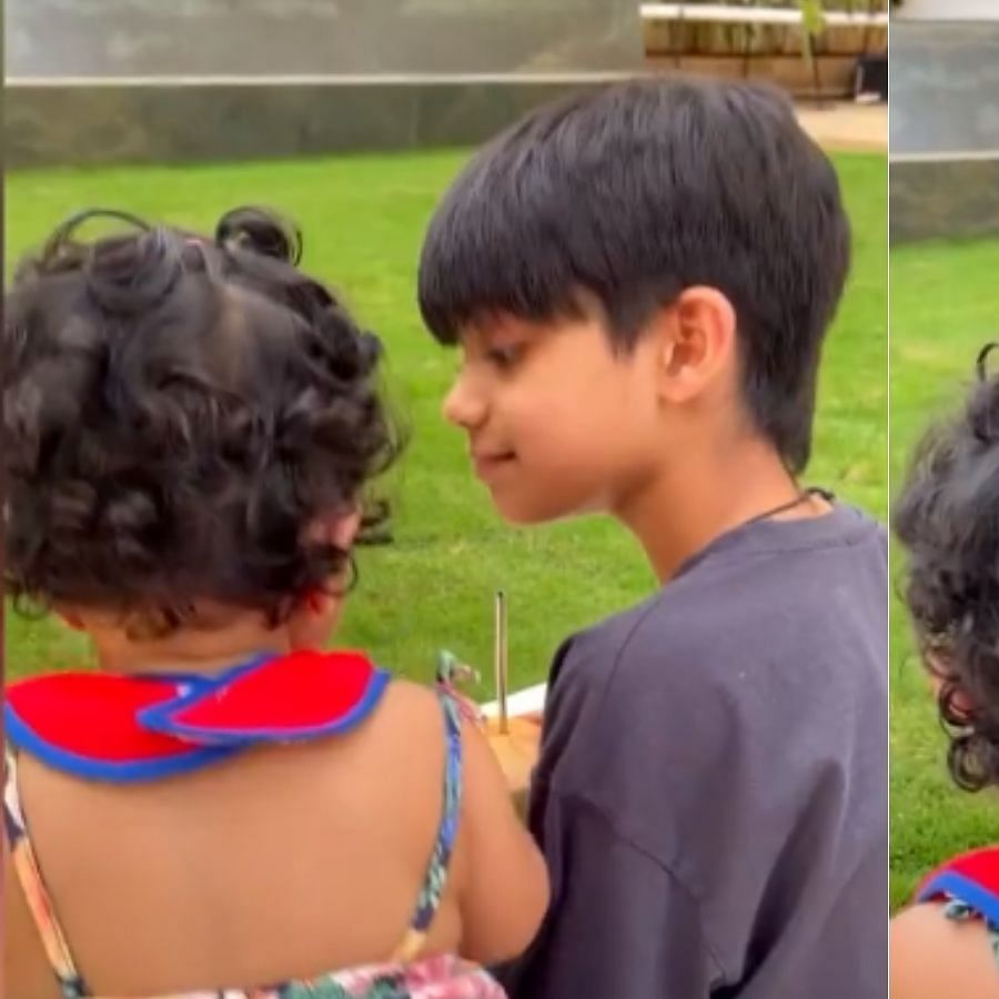 Watch: Shilpa Shetty shares adorable video of  Viaan and Samisha to mark Brother's Day