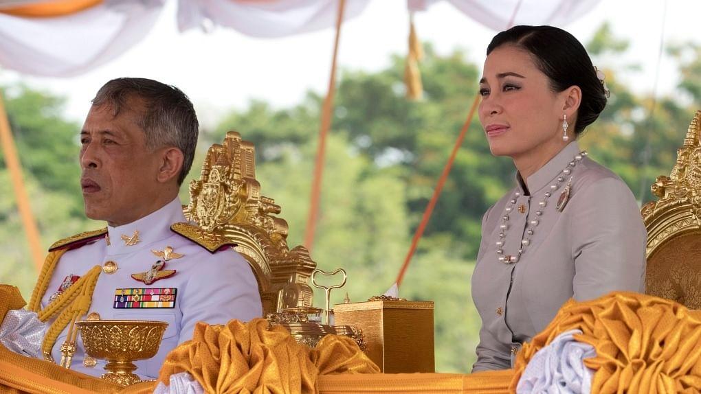 Thailand's King Maha Vajiralongkorn and Queen Suthida