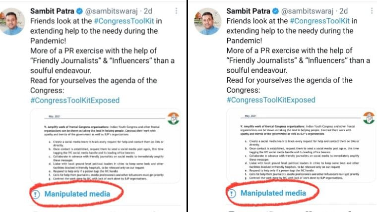 Delhi Police sent notice to Twitter over toolkit as 'manipulated media' matter