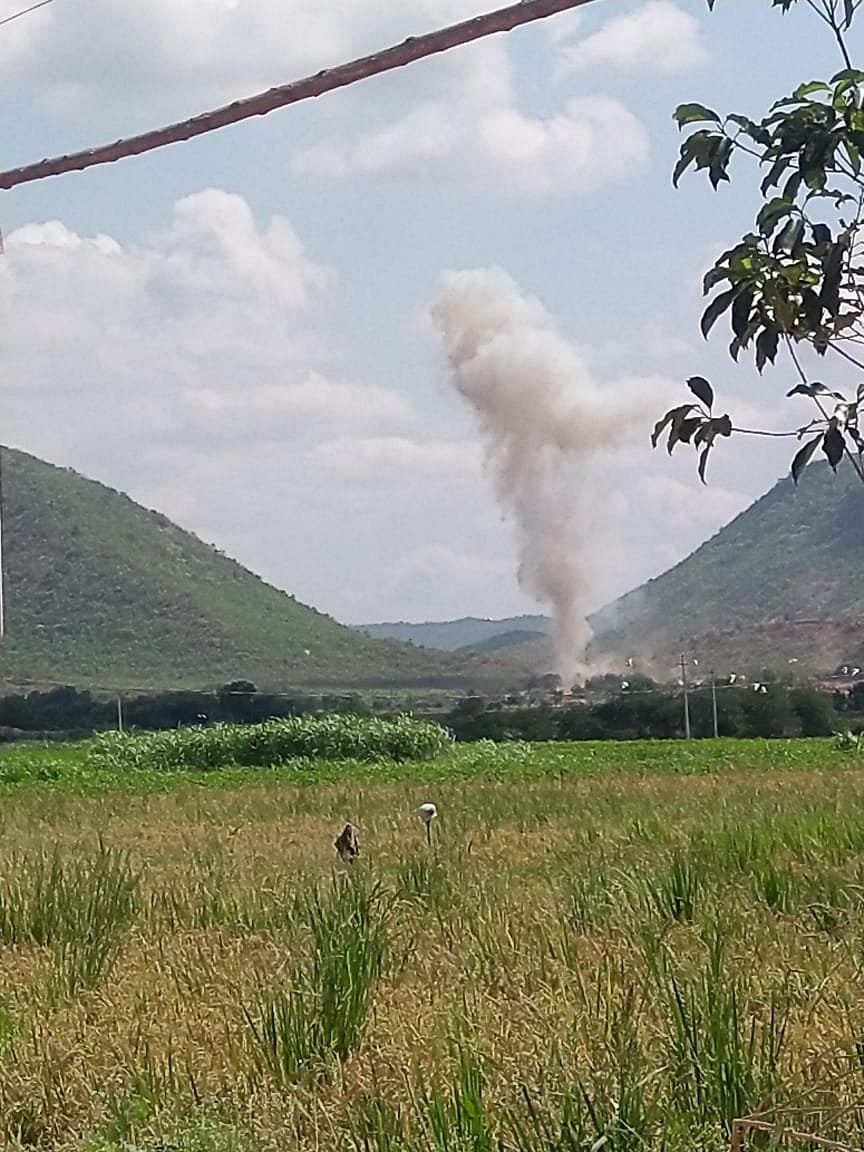 Andhra Pradesh: Several people killed after explosion in limestone quarry, others feared trapped