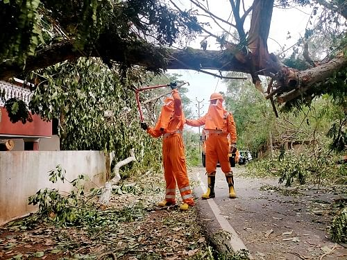 A day later, Goa without power